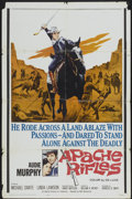 "Movie Posters:Western, Apache Rifles (20th Century Fox, 1964). One Sheet (27"" X 41"").Western...."