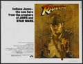 "Movie Posters:Adventure, Raiders of the Lost Ark (Paramount, 1981). Half Sheet (22"" X 28"").Adventure...."