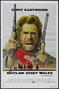 "Movie Posters:Western, The Outlaw Josey Wales (Warner Brothers, 1976). One Sheet (27"" X41""). Western...."