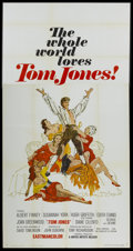 "Movie Posters:Academy Award Winner, Tom Jones (United Artists, 1963). International Three Sheet (41"" X 81""). Academy Award Winner...."