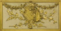 Decorative Arts, Continental:Other , A CONTINENTAL CARVED AND GILT WOOD BOISERIE PANEL. Late19th-Early 20th Century. 21 x 41-1/2 inches (53.3 x 105....