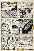 Original Comic Art:Panel Pages, John Buscema and Joe Sinnott - Thor #238, page 6 Original Art(Marvel, 1975)....