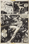 Original Comic Art:Panel Pages, Ross Andru and Jim Mooney - Marvel Team-Up #7, Spider-Man page 18Original Art (Marvel, 1973)....