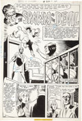 Original Comic Art:Splash Pages, Ramona Fradon - House of Mystery #235, page 1 Original Art (DC,1975)....
