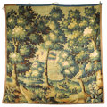 Decorative Arts, French:Other , A LARGE TAPESTRY PANEL. Late 19th Century. 100 x 100 inches (254 x254 cm). ...