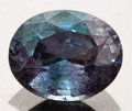 Gems:Faceted, GEM ALEXANDRITE WITH EXCELLENT COLOR CHANGE. ...