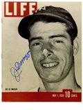 """Autographs:Photos, Joe DiMaggio Signed Photograph. Don't be misled, this 8x10"""" printis not the original 1939 LIFE cover that is so covete..."""