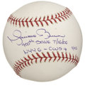"Autographs:Baseballs, Mariano Rivera ""400 Saves"" Single Signed Baseball. The superstarcloser for the New York Yankees makes note of his historic..."