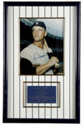 Autographs:Photos, Roger Maris Signed Photograph. One of the most-celebrated players of his era, Roger Maris has the distinction of winning th...