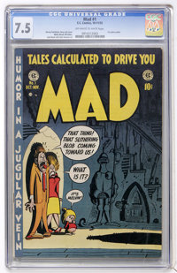 Mad #1 (EC, 1952) CGC VF- 7.5 Off-white to white pages