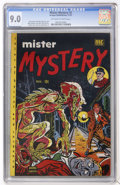 Golden Age (1938-1955):Horror, Mister Mystery #2 (Mikeross Publications, 1951) CGC VF/NM 9.0Off-white to white pages....