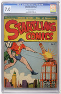 Golden Age (1938-1955):Superhero, Startling Comics #3 (Better Publications, 1940) CGC FN/VF 7.0 Off-white to white pages....