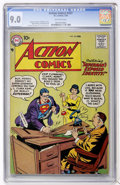 Silver Age (1956-1969):Superhero, Action Comics #237 (DC, 1958) CGC VF/NM 9.0 Off-white pages....