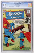 Silver Age (1956-1969):Superhero, Action Comics #238 (DC, 1958) CGC VF/NM 9.0 Off-white to white pages....