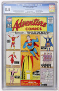 Silver Age (1956-1969):Superhero, Adventure Comics #300 (DC, 1962) CGC VF+ 8.5 Off-white to white pages....