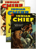 Silver Age (1956-1969):Western, Indian Chief File Copy Group (Dell, 1953-59) Condition: AverageVF/NM.... (Total: 17 Comic Books)