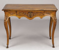 Furniture , AN ITALIAN WALNUT WRITING TABLE. Late 18th-Early 19th Century. 28-1/2 x 39 x 26 inches (72.4 x 99.1 x 66.0 cm). ...