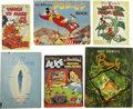 Books:Children's Books, Lot of Six Disney Related Books, including:... (Total: 6 Items)