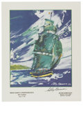 Autographs:Others, LeRoy Neiman Signed Posters, Lot of 10. The group of 10 postersthat we offer here has each been created from the art of ac...