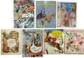 Books:Children's Books, Lot of Seven Golden Books Story Collections,... (Total: 7 Items)