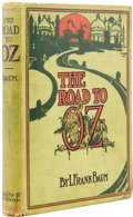 Books:First Editions, L. Frank Baum. The Road to Oz. Chicago: The Reilly &Britton Co., [1909]....