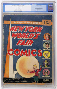 New York World's Fair Comics #1939 (DC, 1939) CGC GD- 1.8 Slightly Brittle pages