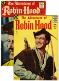Silver Age (1956-1969):Adventure, The Adventures of Robin Hood #6 and 8 Group (Magazine Enterprises, 1957)....