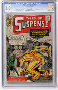 Silver Age (1956-1969):Superhero, Tales of Suspense #41 (Marvel, 1963) CGC GD/VG 3.0 Off-white pages....
