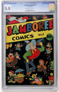 Golden Age (1938-1955):Funny Animal, Jamboree Comics #1 (Round, 1946) CGC VG/FN 5.0 Cream to off-whitepages....