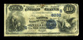 National Bank Notes:Virginia, Norfolk, VA - $10 1882 Date Back Fr. 545 The NB of Commerce Ch. #(S)6032. Signatures are present on this note that has ...