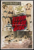"Movie Posters:Sexploitation, Striptease Girl (Sonney Amusement Enterprises, 1952). Poster (40"" X60""). Documentary Sexploitation. Starring Tempest Storm,..."