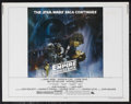 "Movie Posters:Science Fiction, The Empire Strikes Back (20th Century Fox, 1980). Half Sheet (22"" X28"") Style A. Science Fiction Adventure. Starring Mark H..."