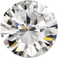 Estate Jewelry:Unmounted Diamonds, Unmounted Diamond. The unmounted round brilliant-cut diamondmeasures 7.57 - 7.67 x 4.29 mm and weighs 1.44 carats. An AGS...