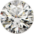 Estate Jewelry:Unmounted Diamonds, Unmounted Diamonds. The lot includes six unmounted roundbrilliant-cut diamonds, each weighing: 0.55 carat, 0.54 carat,0....