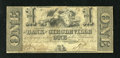 Obsoletes By State:Ohio, Circleville, OH- Bank of Circleville $1 June 1, 1841. This note isfrom the fraudulent bank in town that was operating at th...