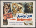 "Movie Posters:Adventure, Jungle Jim (Columbia, 1948). Half Sheet (22"" X 28"") Style B.Adventure. Starring Johnny Weissmuller, Virginia Grey, Lita Bar..."