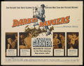 "Movie Posters:War, Darby's Rangers (Warner Brothers, 1958). Half Sheet (22"" X 28"").War. Starring James Garner, Etchika Choureau, Jack Warden, ..."