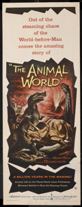 """Movie Posters:Documentary, The Animal World (Warner Brothers, 1956). Insert (14"""" X 36""""). Documentary. Directed by Irwin Allen. Narrated by John Storm a..."""