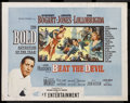 "Movie Posters:Adventure, Beat the Devil (United Artists, 1953). Half Sheet (22"" X 28"") StyleB. Comedy Adventure. Starring Humphrey Bogart, Jennifer ..."
