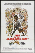"Movie Posters:Black Films, Five on the Black Hand Side (United Artists, 1973). One Sheet (27""X 41""). Black Cast/Comedy. Starring D'Urville Martin, Gly..."