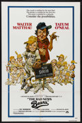 "Movie Posters:Sports, The Bad News Bears (Paramount, 1976). One Sheet (27"" X 41""). Comedy. Starring Walter Matthau, Tatum O'Neal, Vic Morrow and j..."
