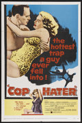 "Movie Posters:Crime, Cop Hater (United Artists, 1958). One Sheet (27"" X 41""). Crime.Starring Robert Loggia, Ellen Parker, Gerald S. O'Loughlin a..."