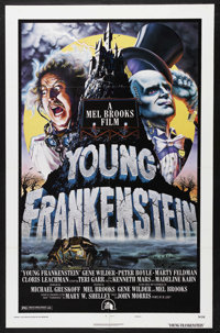 "Young Frankenstein (20th Century Fox, 1974). One Sheet (27"" X 41"") Style B. Comedy/Horror. Starring Gene Wilde..."