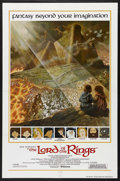 """Movie Posters:Animated, The Lord of the Rings (United Artists, 1978). One Sheet (27"""" X 41"""")English International Style. Animation. Starring John Hu..."""
