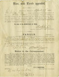 Miscellaneous:Ephemera, Civil War - Group of Soldiers' Documents. Small archive of 14miscellaneous Civil War documents all war-dated regarding vari...(Total: 14 )