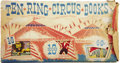 Books:Children's Books, Eva Knox Evans, editor. Ten Ring Circus Books. New York:Capitol Publishing Company, 1949.. ...