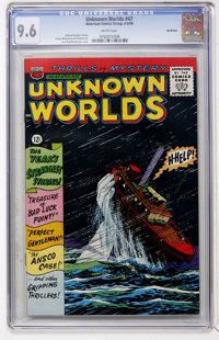 Unknown Worlds #47 Northland pedigree (ACG, 1966) CGC NM+ 9.6 White pages