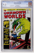 Silver Age (1956-1969):Horror, Unknown Worlds #46 Northland pedigree (ACG, 1966) CGC NM- 9.2Off-white to white pages....