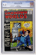 Silver Age (1956-1969):Horror, Unknown Worlds #48 Northland pedigree (ACG, 1966) CGC NM- 9.2 Whitepages....