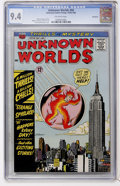Silver Age (1956-1969):Horror, Unknown Worlds #44 Northland pedigree (ACG, 1964) CGC NM 9.4Off-white pages....